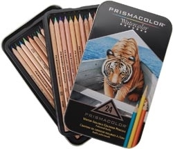 Prismacolor 24 WATERCOLOR PENCIL SET 4065*