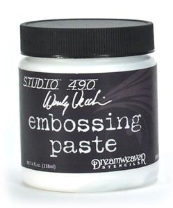 Wendy Vecchi Embossing Paste WHITE Studio 490 WVPASTEWHT zoom image