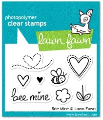 Lawn Fawn BEE MINE Clear Stamps LF439 zoom image
