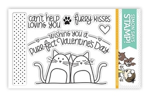 Simon Says Clear Stamps FURRY KISSES sss101213