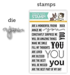 Simon Says Stamps And Dies EXPRESSIONS FOR YOU SetEFY11