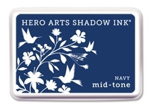 Hero Arts Shadow Ink Pad NAVY Blue Mid-Tone af234 Preview Image