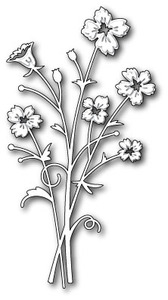 Memory Box BELLA BOUQUET Craft DIE 98472 Preview Image