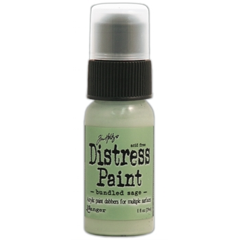 Tim Holtz Distress Paint BUNDLED SAGE Ranger TDD36333