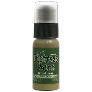 Tim Holtz Distress Paint FOREST MOSS Ranger TDD36364