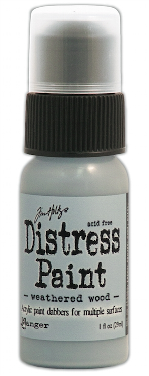 Tim Holtz Distress Paint WEATHERED WOOD Ranger TDD36524 zoom image