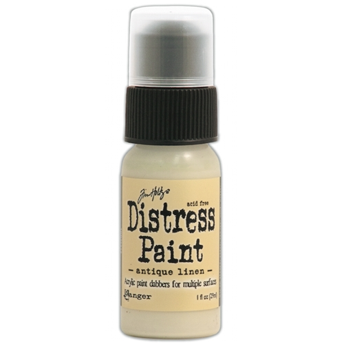 Tim Holtz Distress Paint ANTIQUE LINEN Ranger TDD36272 Preview Image