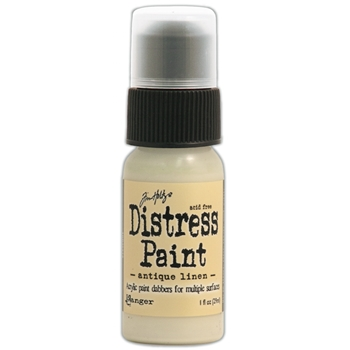 Tim Holtz Distress Paint ANTIQUE LINEN Ranger TDD36272
