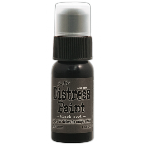 Tim Holtz Distress Paint BLACK SOOT Ranger TDD36302 Preview Image