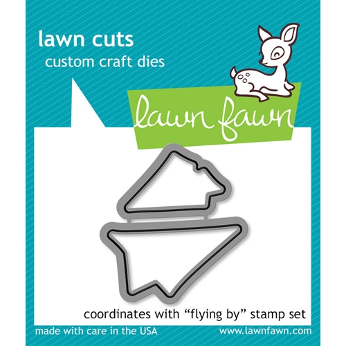 Lawn Fawn FLYING BY Lawn Cuts Dies LF488 Preview Image