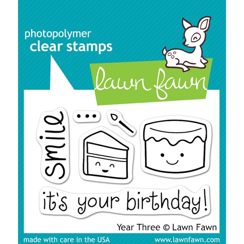 Lawn Fawn YEAR THREE Clear Stamps Preview Image