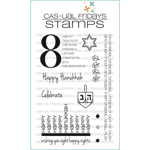 CAS-ual Fridays 8 HAPPY NIGHTS Clear Stamps CFSS12006 Preview Image