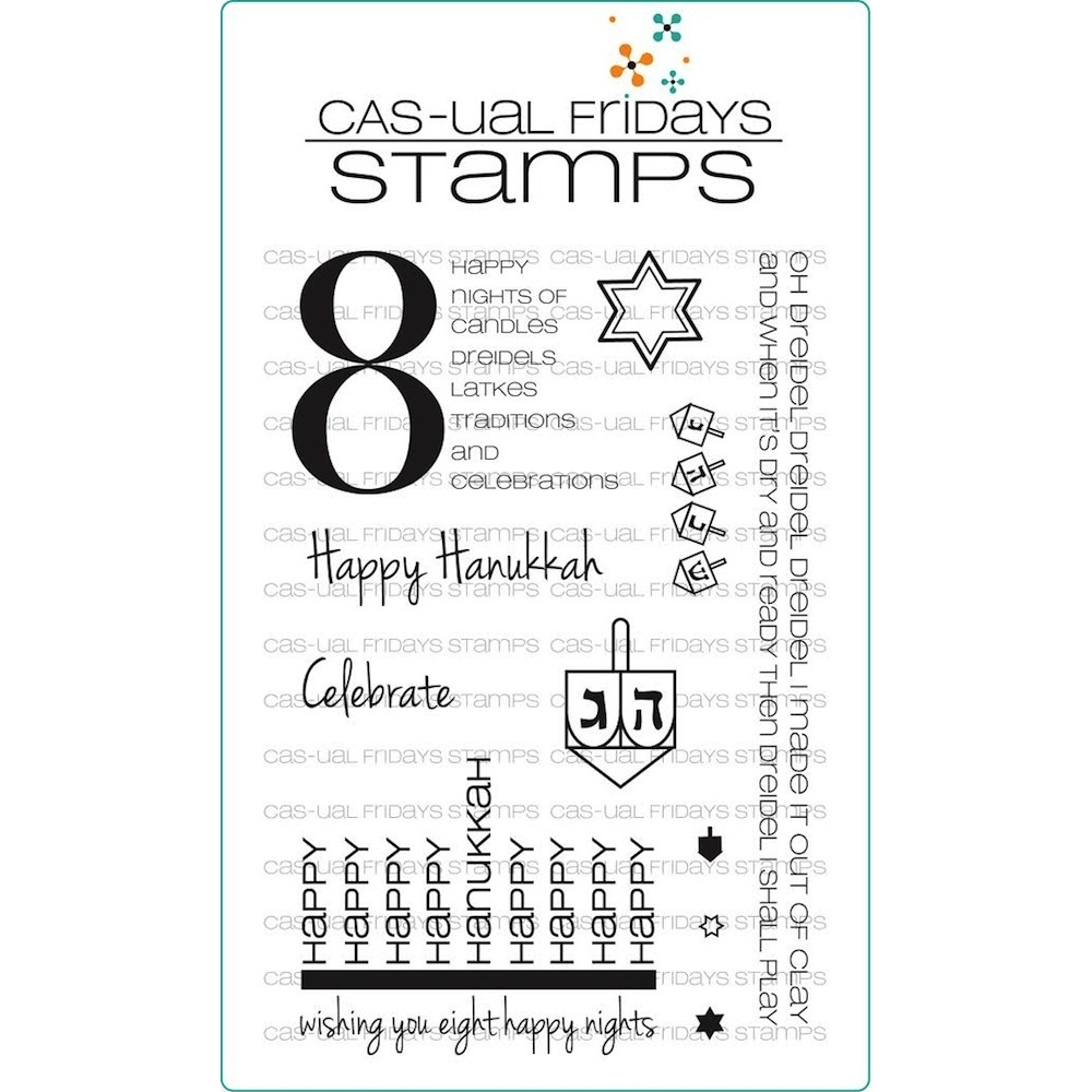 CAS-ual Fridays 8 HAPPY NIGHTS Clear Stamps CFSS12006 zoom image