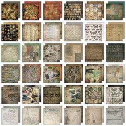 Tim Holtz Idea-ology Paper Stash COLLAGE MINI 8x8 TH93054 zoom image