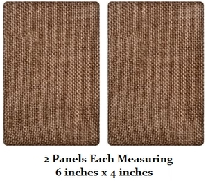 Tim Holtz DISTRICT MARKET Burlap Panels BARE TH93063