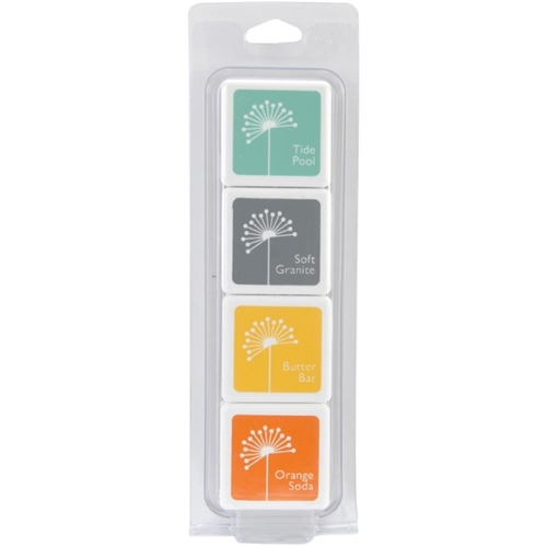 Hero Arts Mini CUBE INK PADS Set SUMMER SPLASH af237 Preview Image