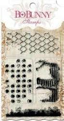 BoBunny DISTRESSED TEXTURES Clear Stamps 10105756 Preview Image