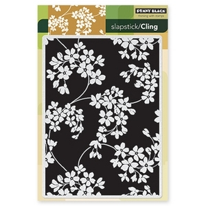 Penny Black Cling Stamp GLORY OF MODESTY Rubber Unmounted 40-206