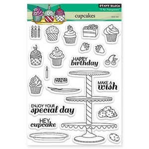 Penny Black Clear Stamps CUPCAKES 30-171 zoom image