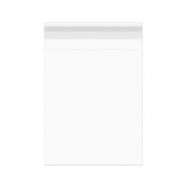 Clear Bags 4.625 x 5.75 Flap Seal Close Pack of 100 B54 zoom image