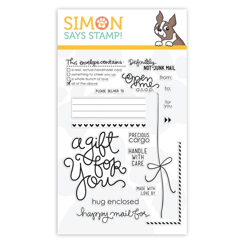 Simon Says Clear Stamps ENVELOPE SENTIMENTS sss101303 Preview Image