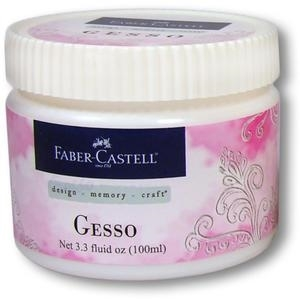 Faber-Castell GESSO White Opaque Paper Crafter Medium 3.3oz 770302* zoom image