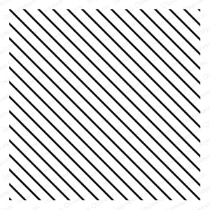 Impression Obsession Cling Stamp DIAGONAL LINES CC148 zoom image