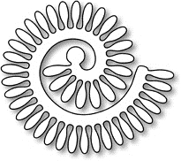 Impression Obsession Steel Dies SPIRAL DAISY DIE071-I