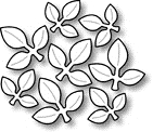 Impression Obsession Steel Dies LEAF CLUSTER DIE066-C Preview Image