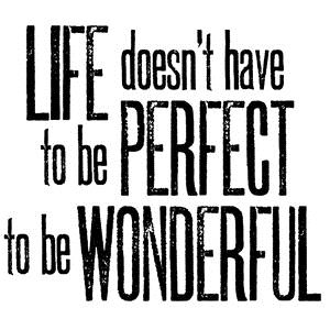 Tim Holtz Rubber Stamp WONDERFUL LIFE Stampers Anonymous H2-2139 Preview Image