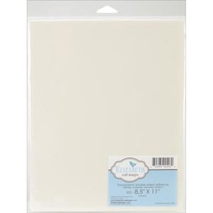 Elizabeth Craft Designs 8.5 x 11 CLEAR TAPE SHEET Double Sided 00408