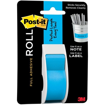 3M Scotch ROLL MEDITERANNEAN BLUE MASKING TAPE Post-It Adhesive 2650-P