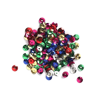 Darice 5MM MULTI Sequins 10043-11