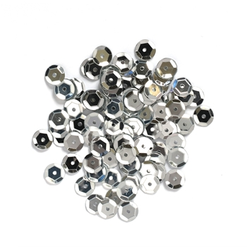 Darice 5MM SILVER Sequins 10043-19