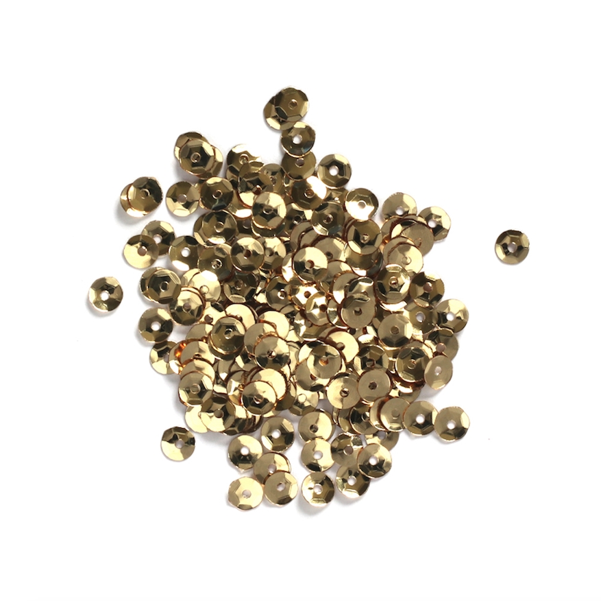 Darice 5MM GOLD Sequins 10043-22 zoom image