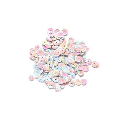 Darice 5MM IRIDESCENT WHITE Sequins 10043-17 Preview Image
