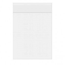 Clear Bags 5 x 8 Zip Seal Close Pack of 100 ZC58 zoom image