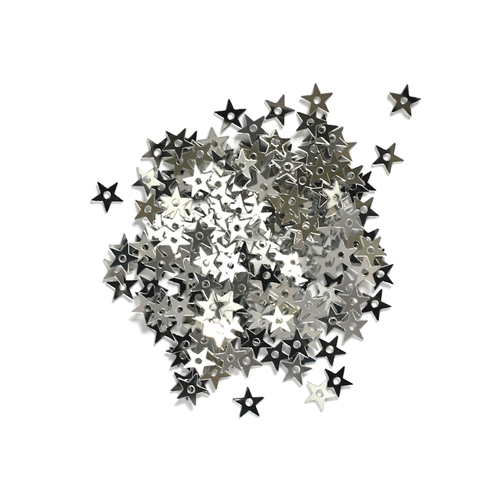 Darice TINY STAR SILVER Sequins 10038-19 Preview Image