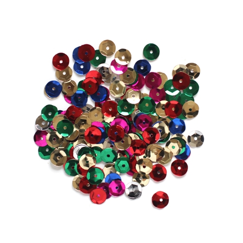 Darice 8MM MULTI Sequins 10044-11 Preview Image