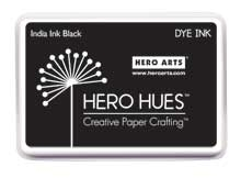 Hero Arts Dye Ink Pad INDIA INK Black af248 Preview Image