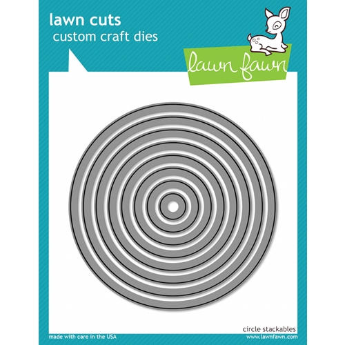 Lawn Fawn CIRCLE STACKABLES Lawn Cuts Dies LF522 Preview Image