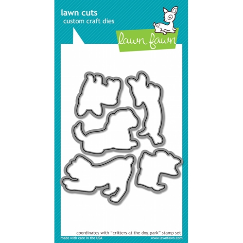 Lawn Fawn CRITTERS AT THE DOG PARK Lawn Cuts Dies LF520* Preview Image