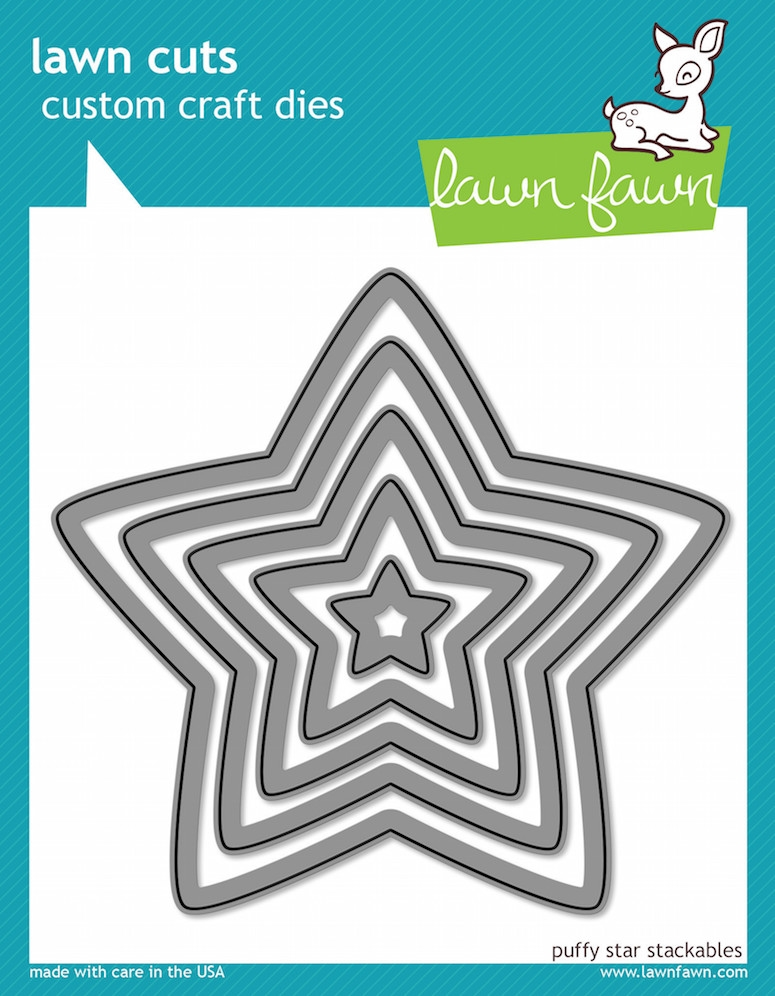 Lawn Fawn PUFFY STAR STACKABLES Lawn Cuts Dies LF521 zoom image