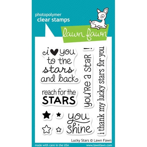 Lawn Fawn LUCKY STARS Clear Stamps LF514 Preview Image