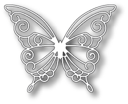 Simon Says Stamp DEVONSHIRE BUTTERFLY Wafer Die S173 Preview Image