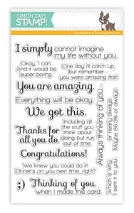 Simon Says Clear Stamps INSIDE AND OUT SAYINGS SSS101325 zoom image