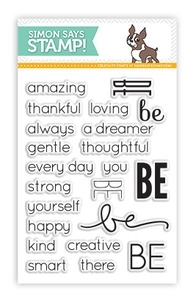 Simon Says Clear Stamps BE Sentiments SSS101329 Preview Image
