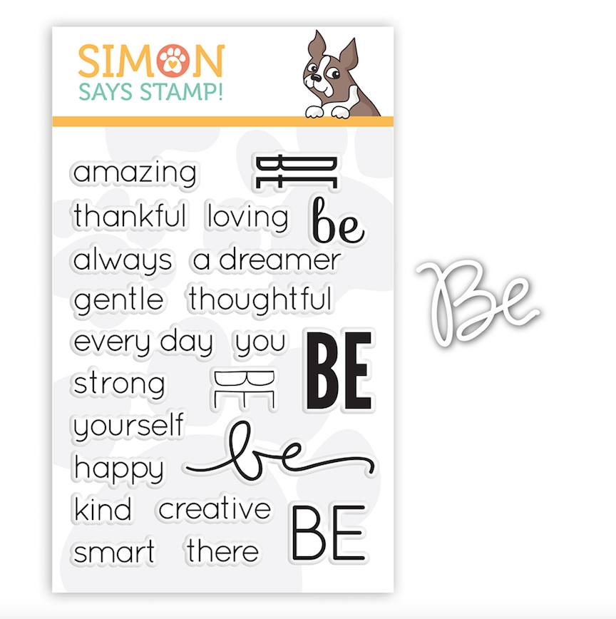 Simon Says Stamps And Dies SENTIMENTS OF BE setSB18 zoom image