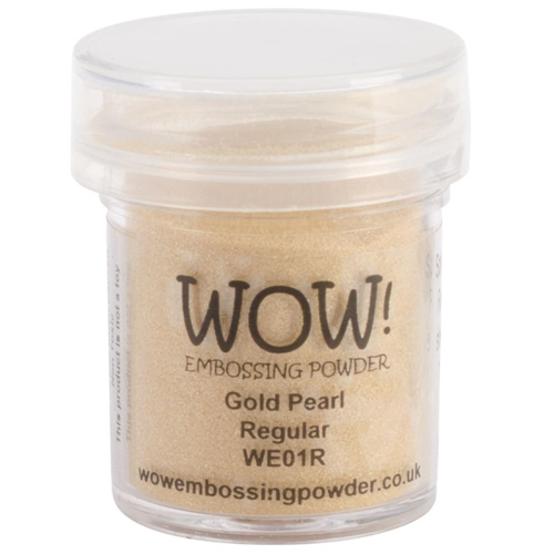 WOW Embossing Powder GOLD PEARL Regular WE01R Preview Image