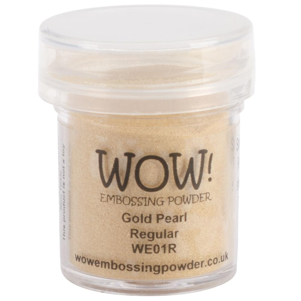 WOW Embossing Powder GOLD PEARL Regular WE01R zoom image